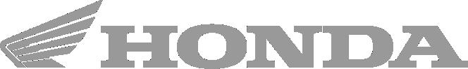 Image of a Honda logo in grey