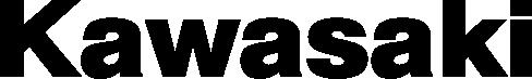 Image of a kawazaki logo in black