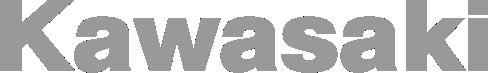Image of a kawasaki logo in grey