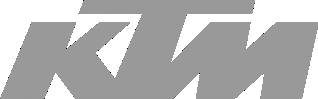 Image of a KTM Logo in grey