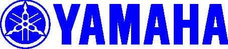 Image of a yamaha logo in blue