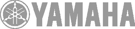 Image of a Yamaha logo in grey